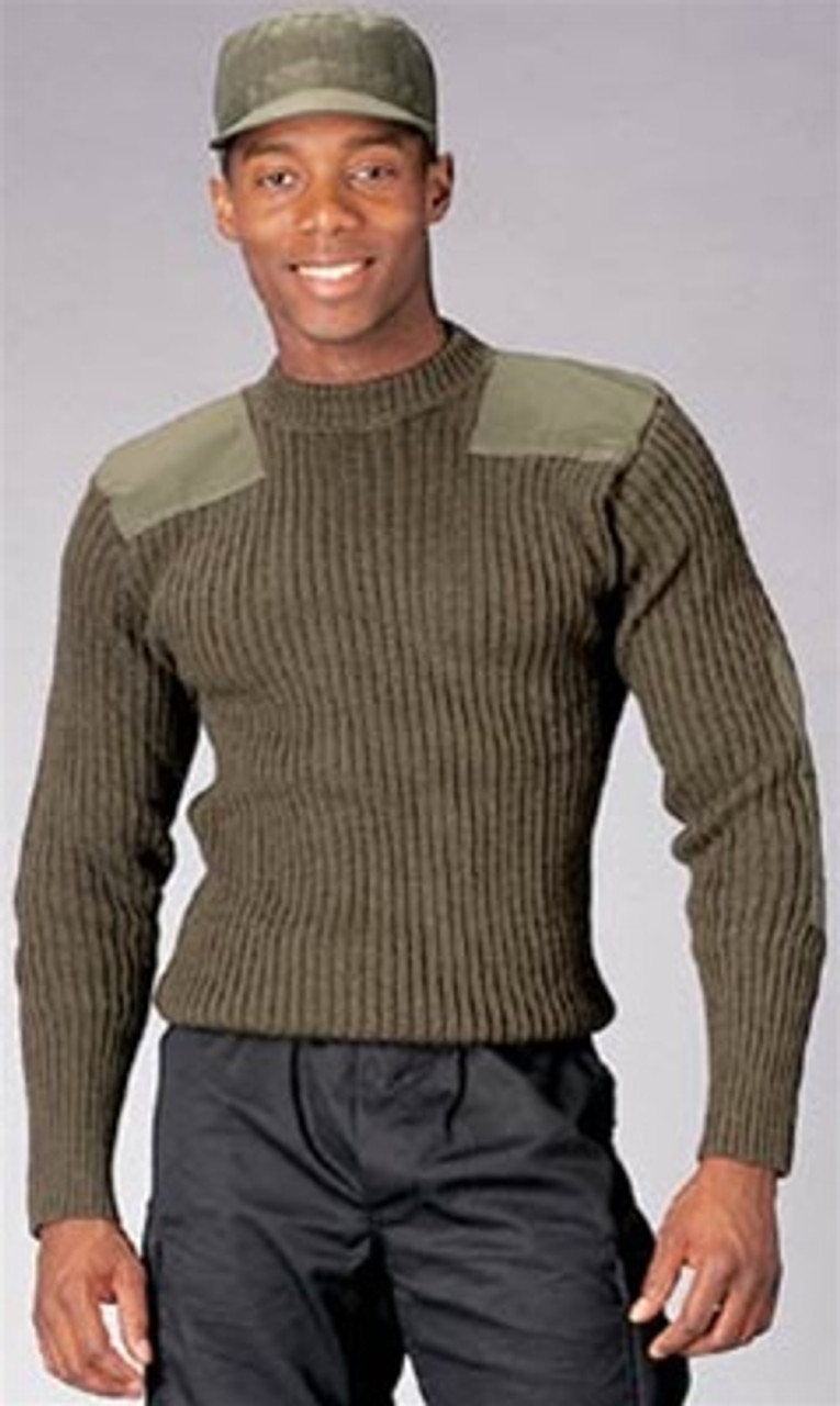 Wool Commando Sweater - OD from Hessen Tactical
