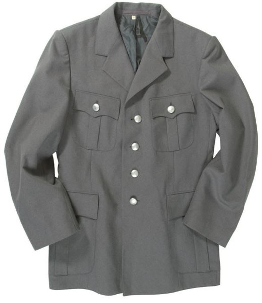 German Grey Army Uniform Jacket - Used from Hessen Surplus
