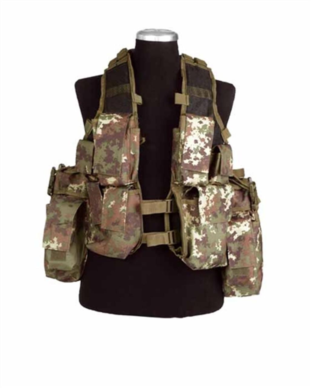 Vegetato Camo Tactical Vest  Large Hessen Antique