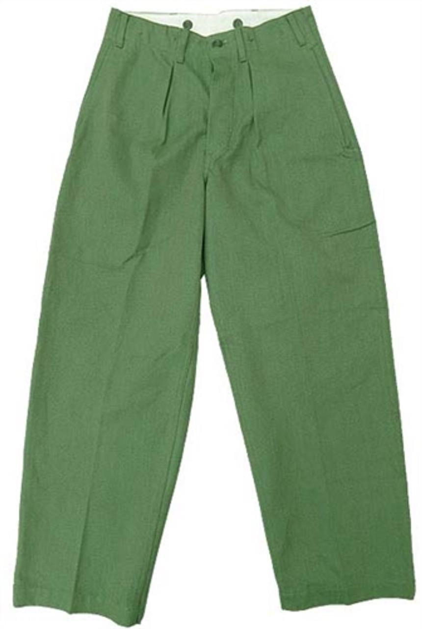 Swedish OD Work Pants from Hessen Surplus