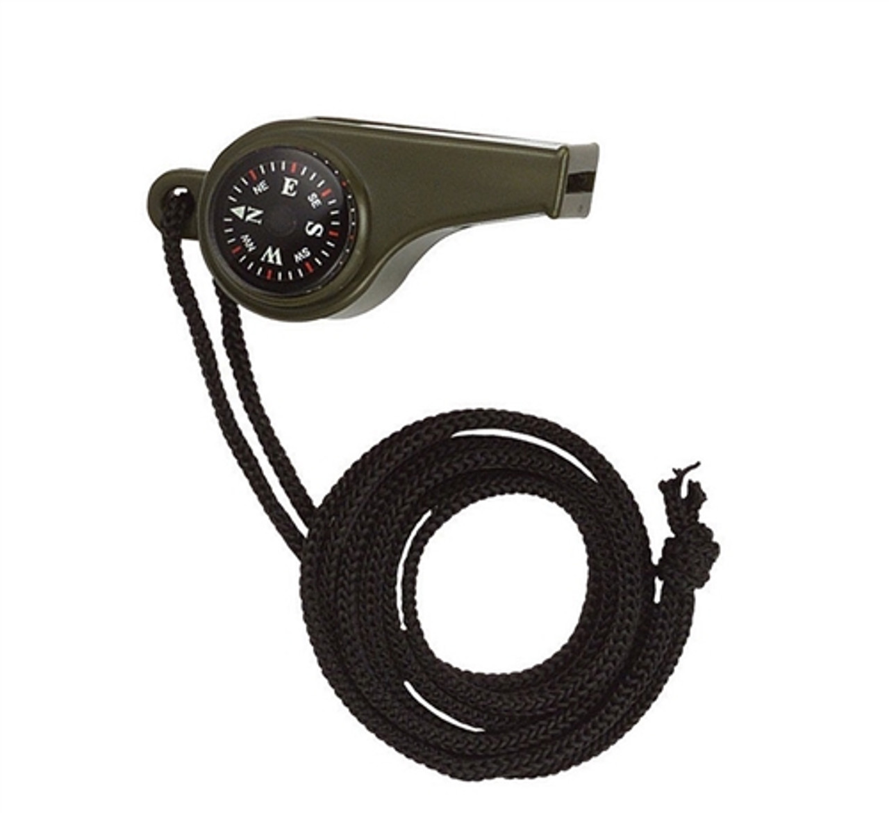 Super Whistle with Compass & Thermometer from Hessen Tactical