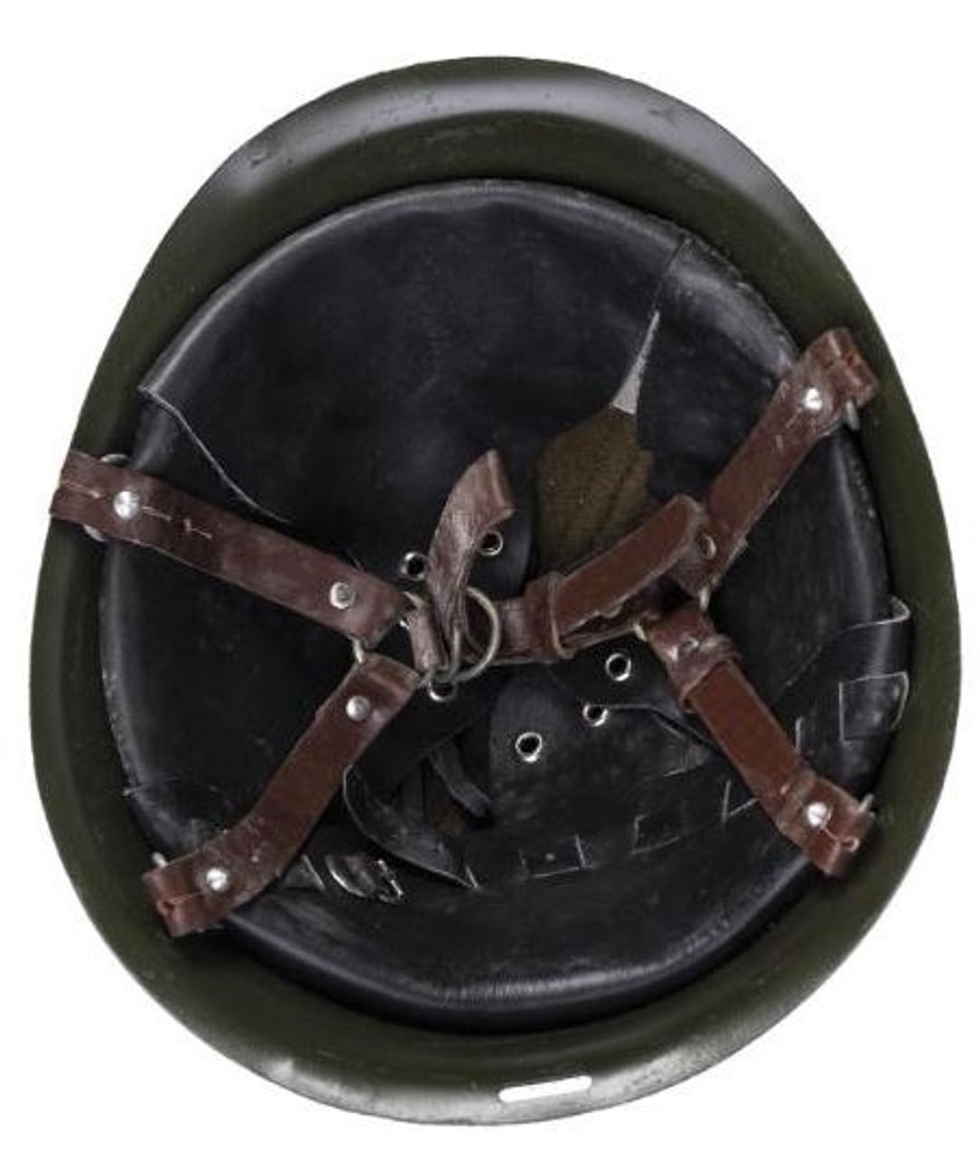 Romanian Army M73 Steel Helmet from Hessen Antique