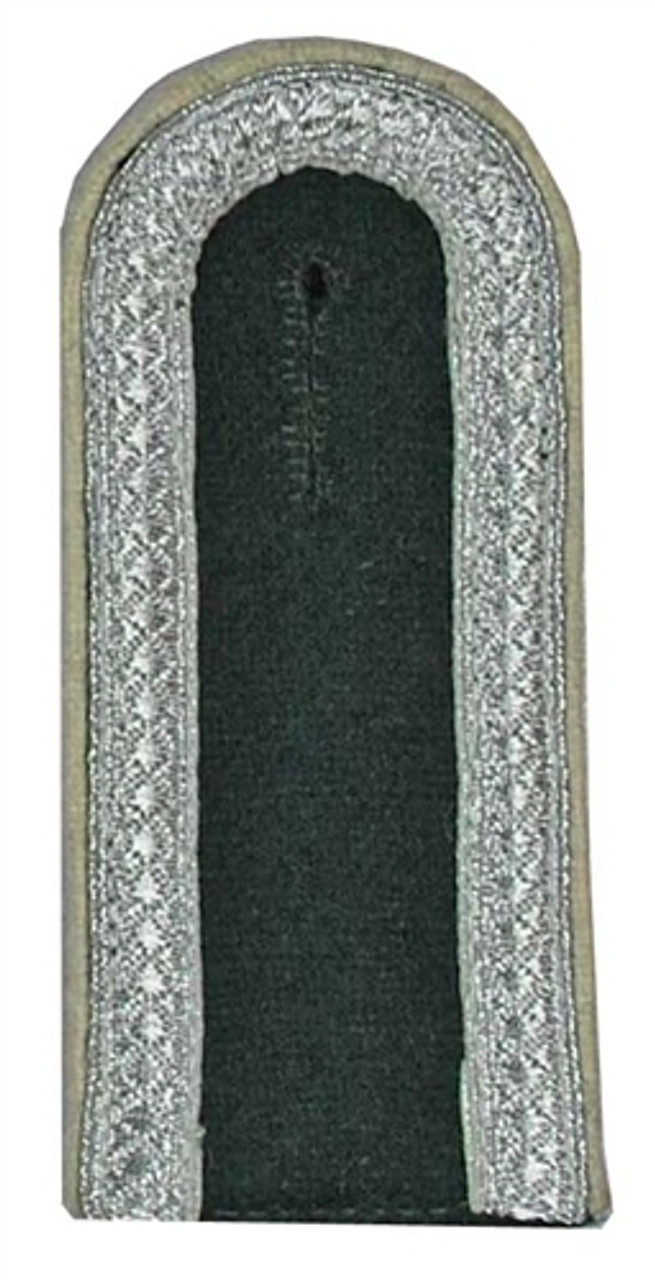 WH NCO Shoulder Boards on Bottle-Green wool