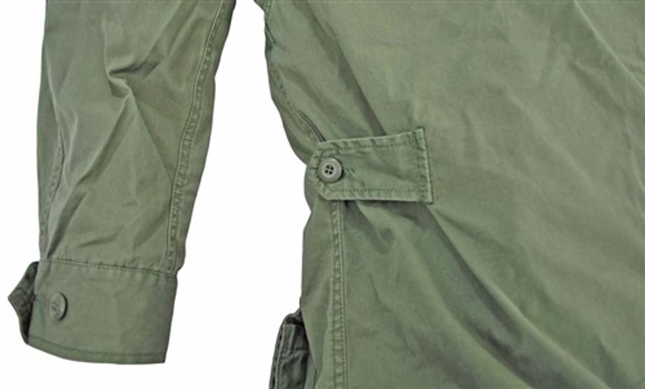 1st Pattern Vietnam Era Jungle Fatigue Shirt from Hessen Tactical