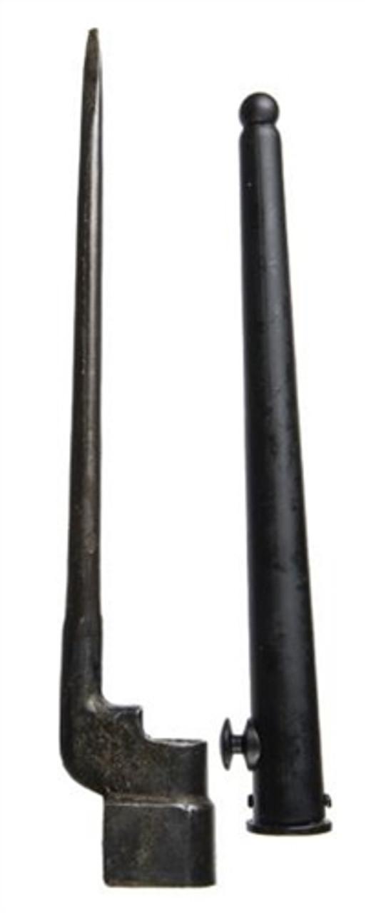 British Spike Bayonet With Scabbard