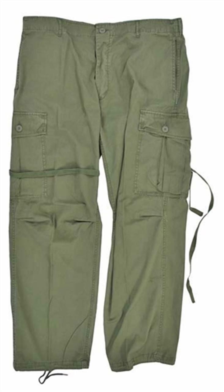 1st Pattern Vietnam Era Jungle Fatigue Trousers from Hessen Tactical