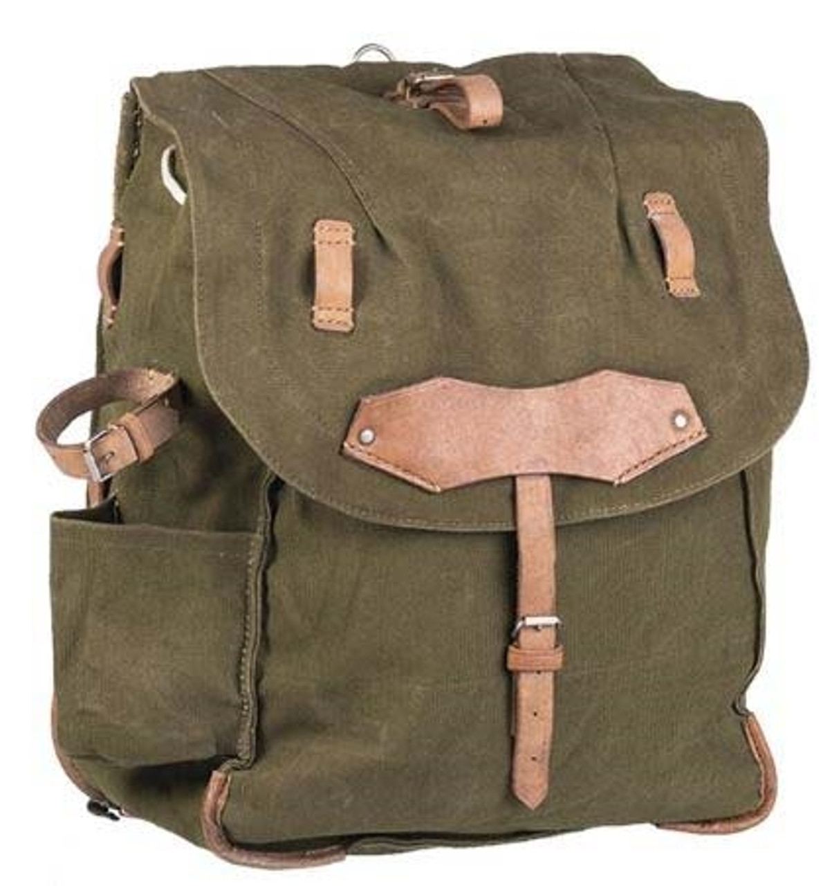 Romanian Army OD Canvas Rucksack from Hessen Antique