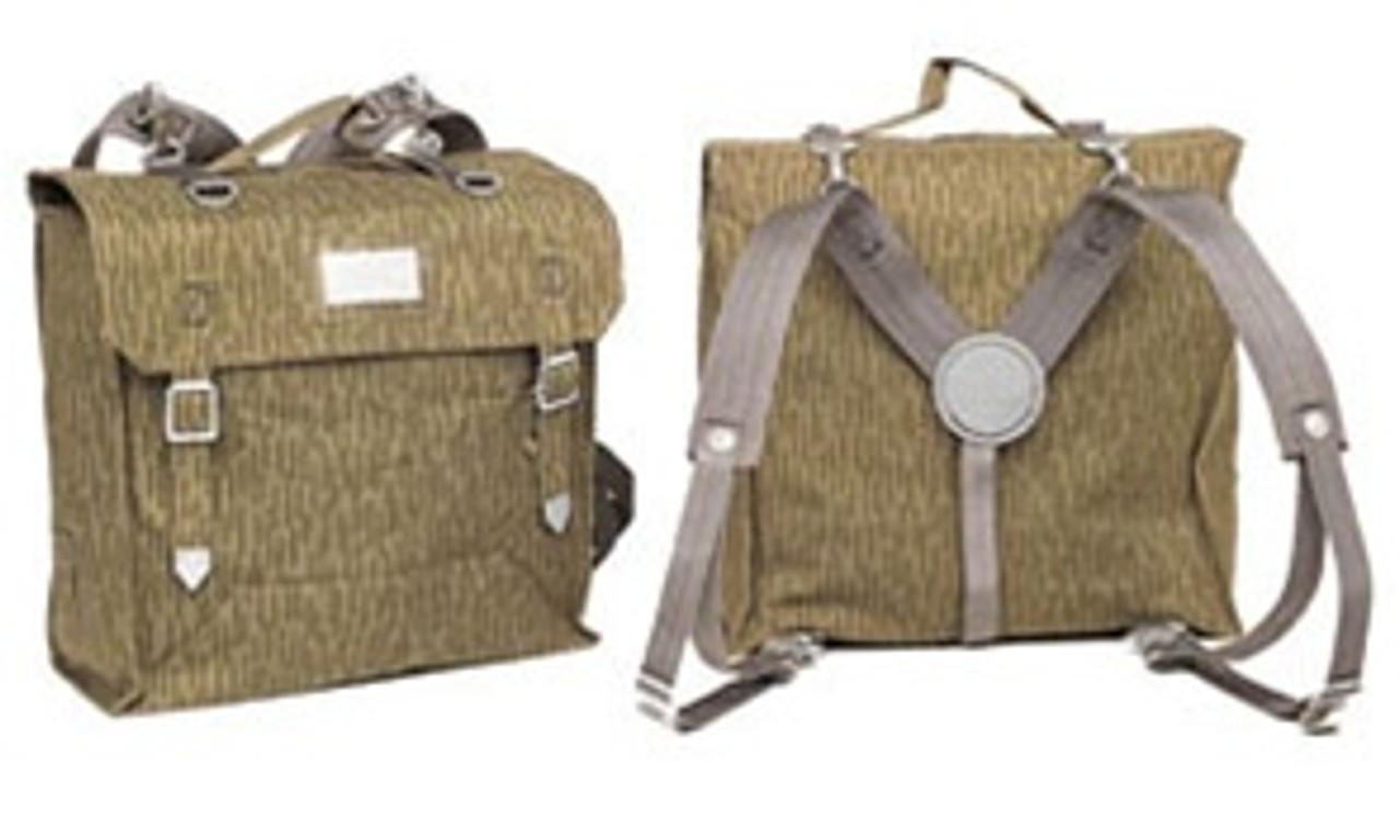 East German Camo Combat Pack  w/Suspenders from Hessen Antique