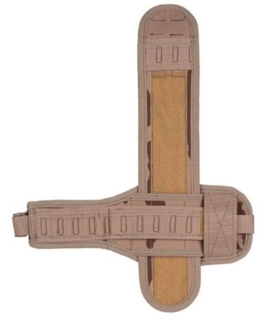 Czech Desert Camo MOLLE Leg Platform - Right Side