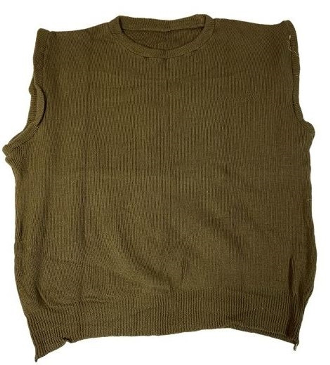 Romanian M85 OD Sweater Vest - Used