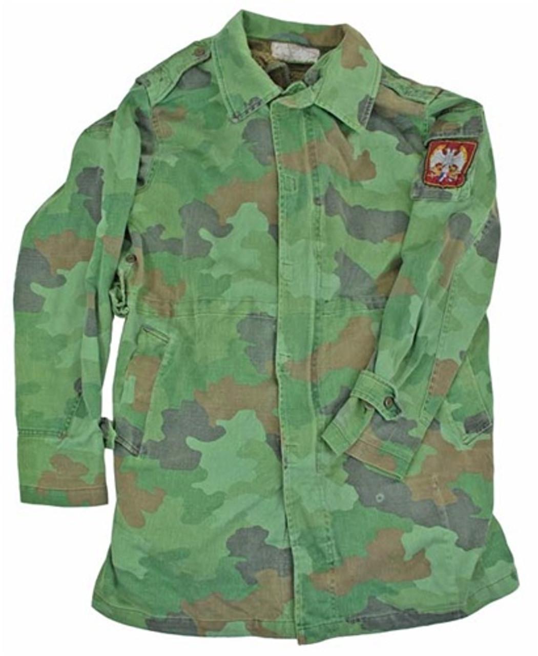 Serbian Army Camo Parka W/ Liner from Hessen Surplus