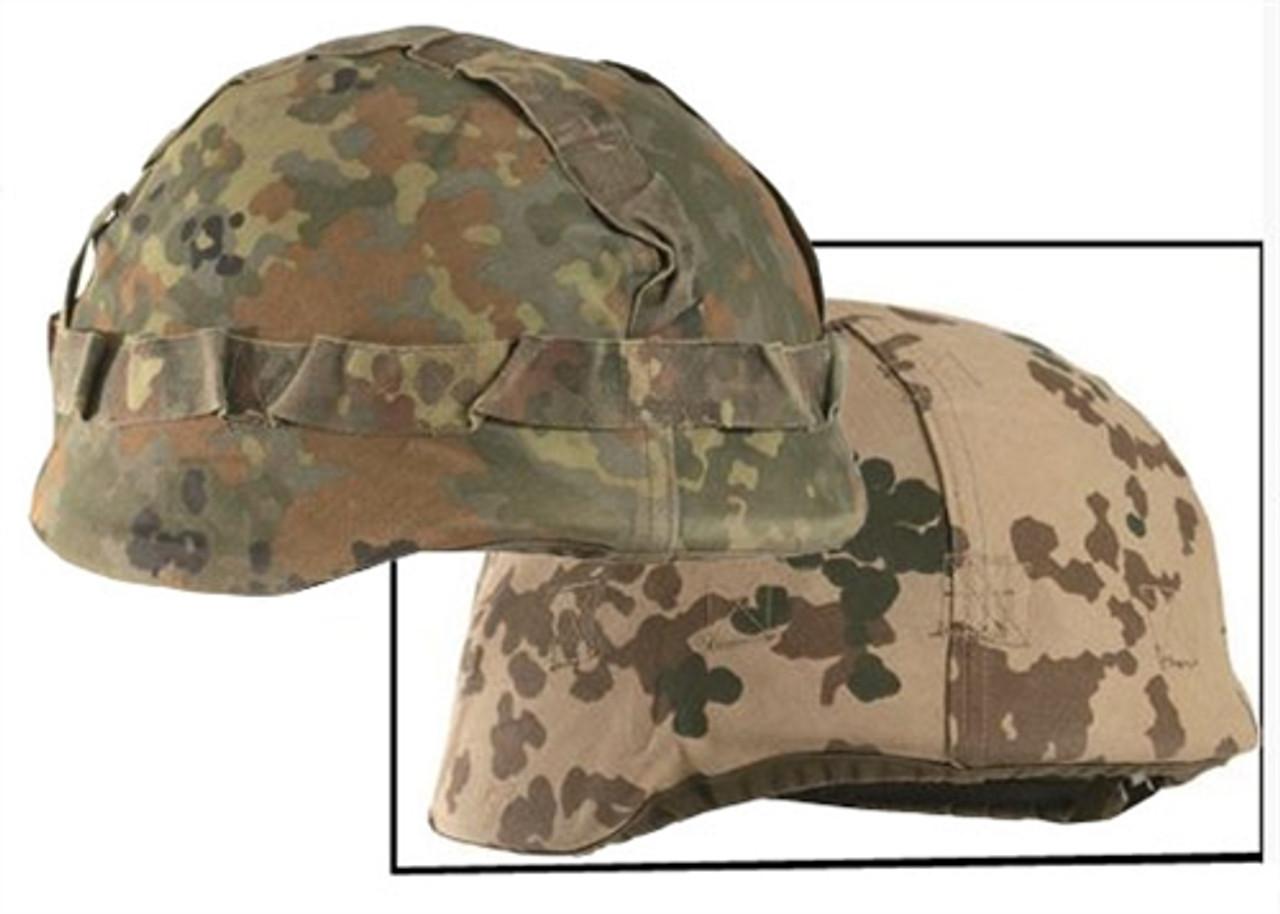 Bundeswehr Reversible Flecktarn Helmet Cover  from Hessen Antique
