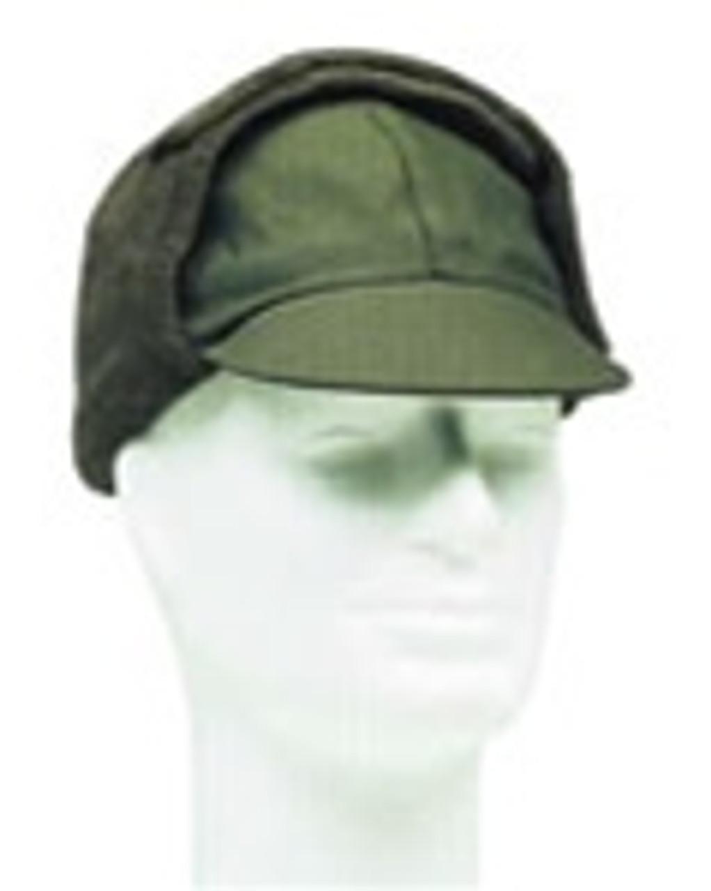 German OD Winter Cap from Hessen Surplus