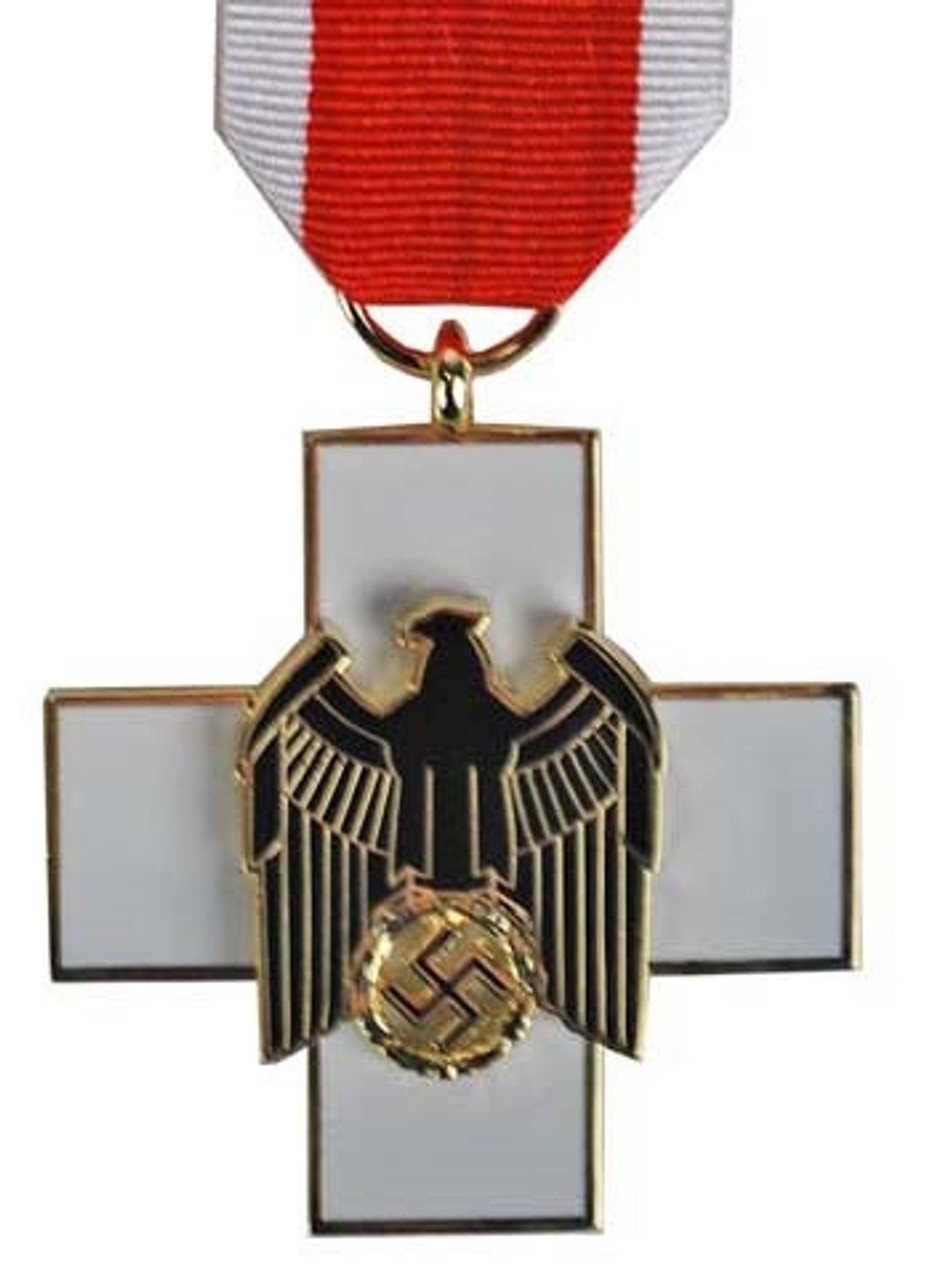 German Social Welfare Decoration - 3rd Class from Hessen Antique