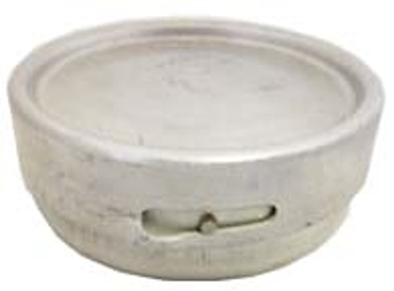 German Aluminum Butter/Lard Dish -Used from Hessen Antique
