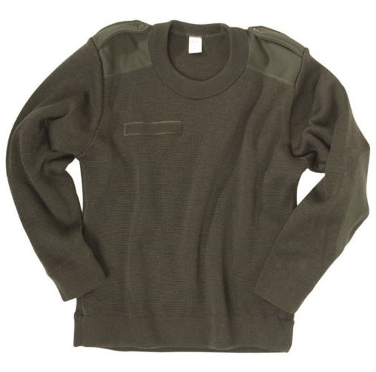 French OD Commando Sweater from Hessen Antique