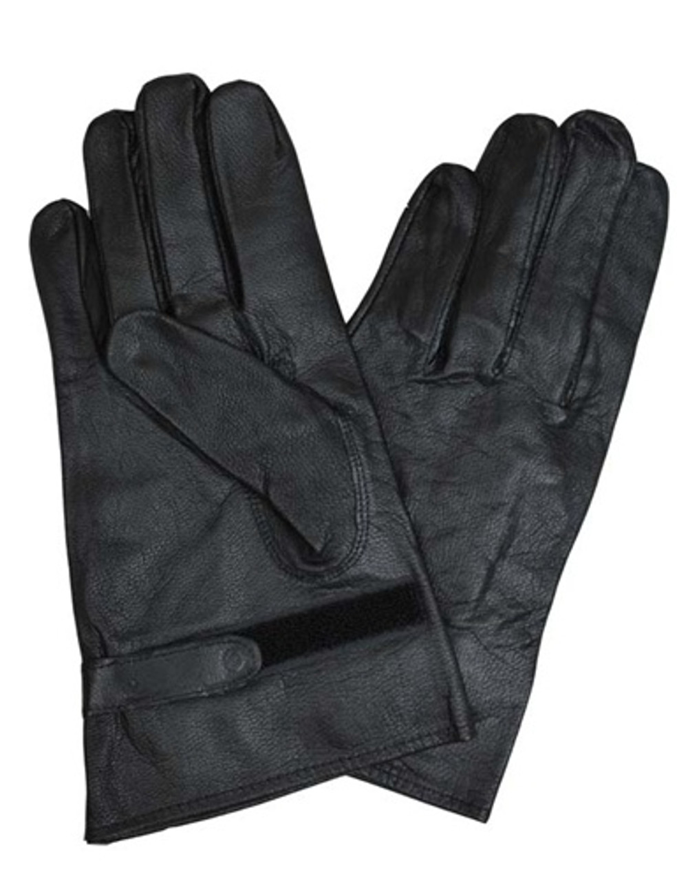 Black Leather Gloves from Hessen Antique