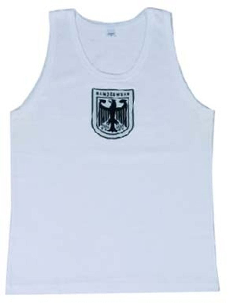 Bw White Tank Top from Hessen Surplus
