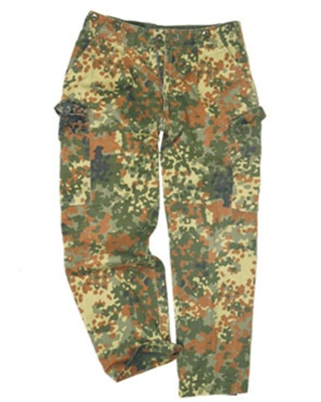 German Flectar Camo Field Pants from Hessen Surplus