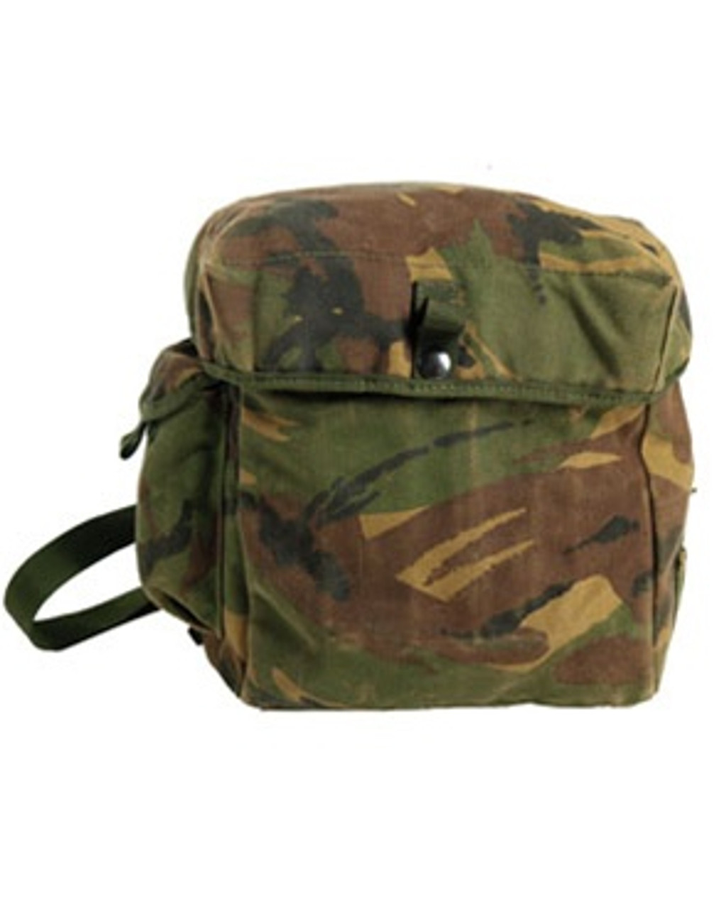 British Camo Gas Mask Bag from Hessen Antique