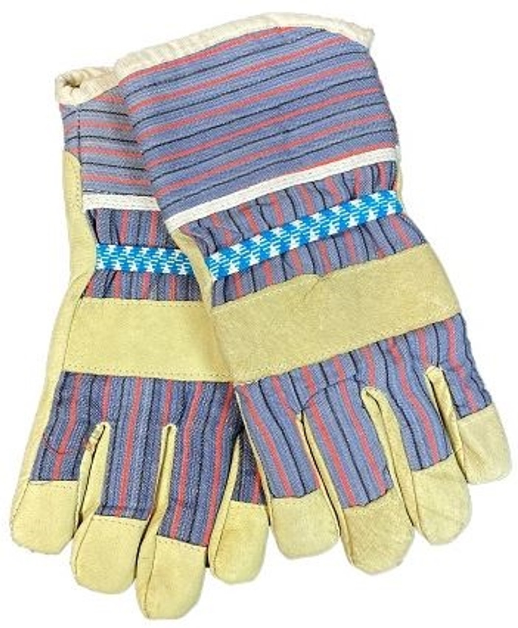 BW Grey Unlined Leather Gloves from Hessen Antique