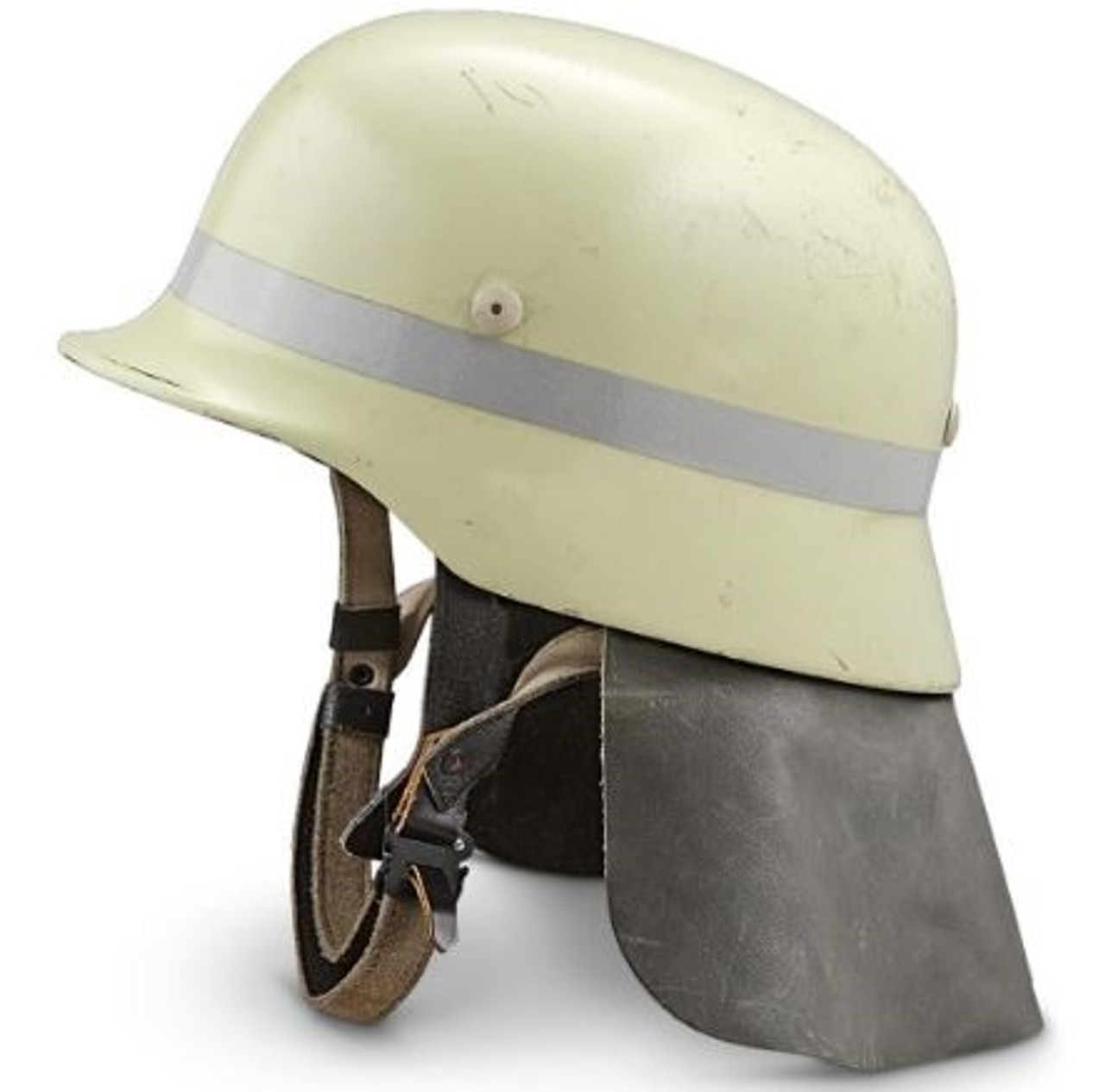 Bundeswehr M35 Style Fireman's Helmet from Hessen Antique