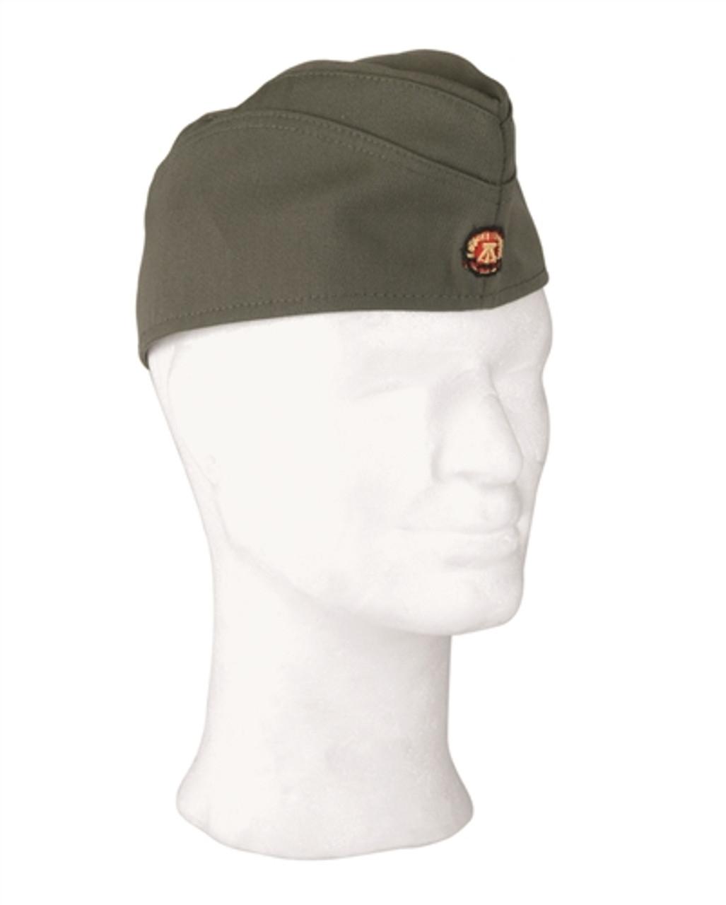 East German Army Officer's Overseas Hat - Like New from Hessen Surplus