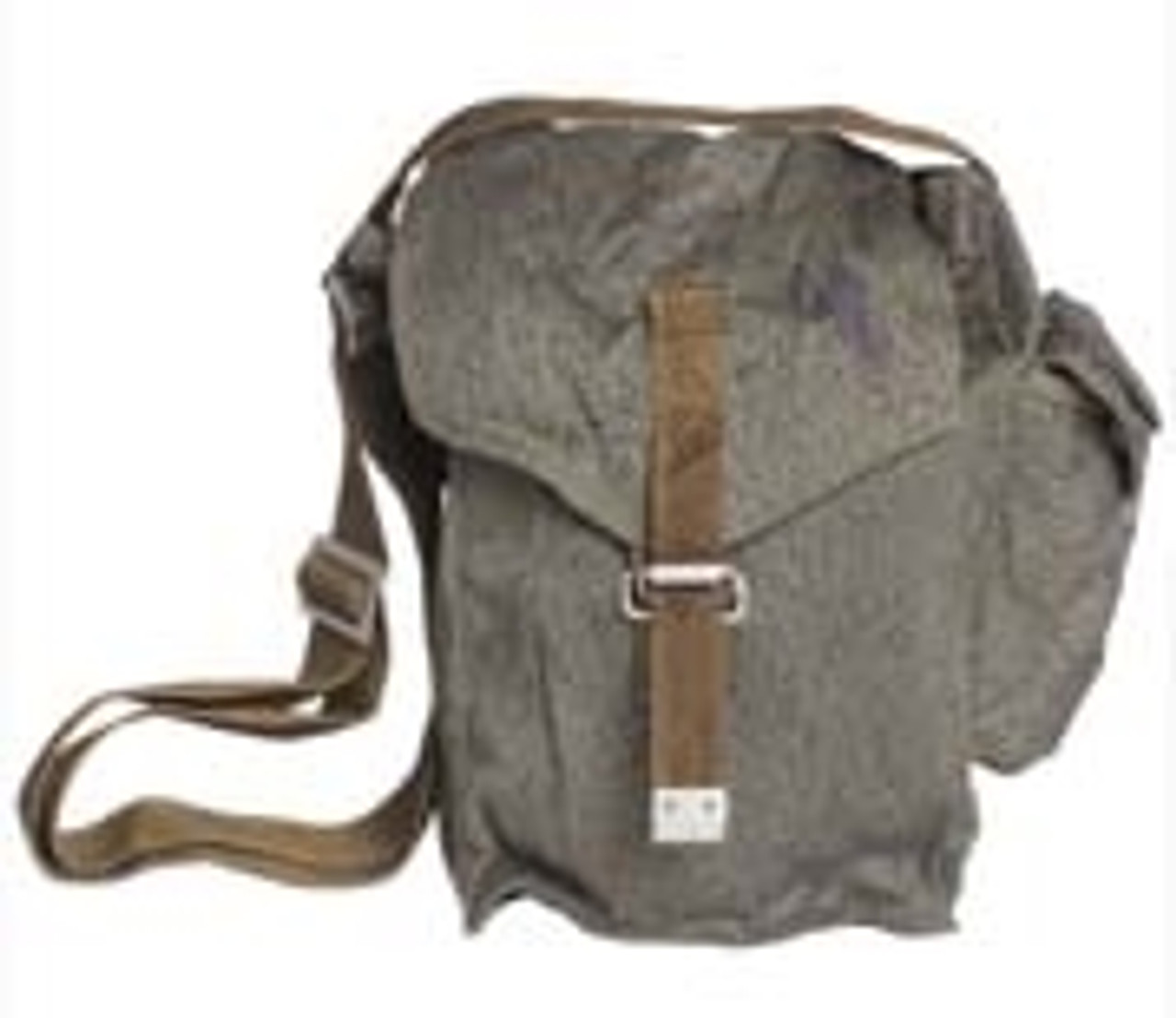 Polish Camo Gas Mask Bag With Strap from Hessen Antique