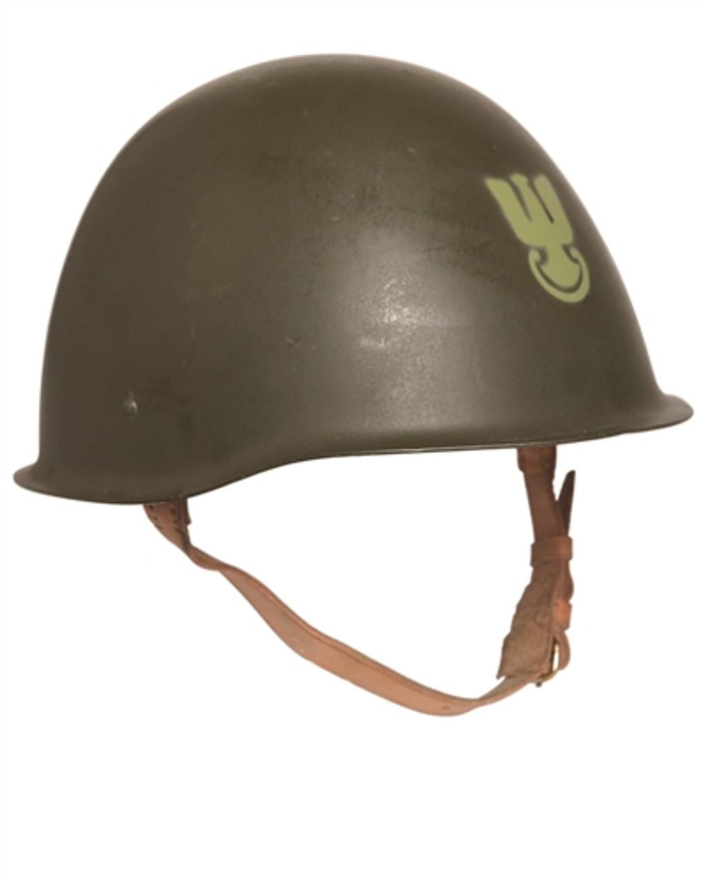 Polish Steel Helmet from Hessen Antique