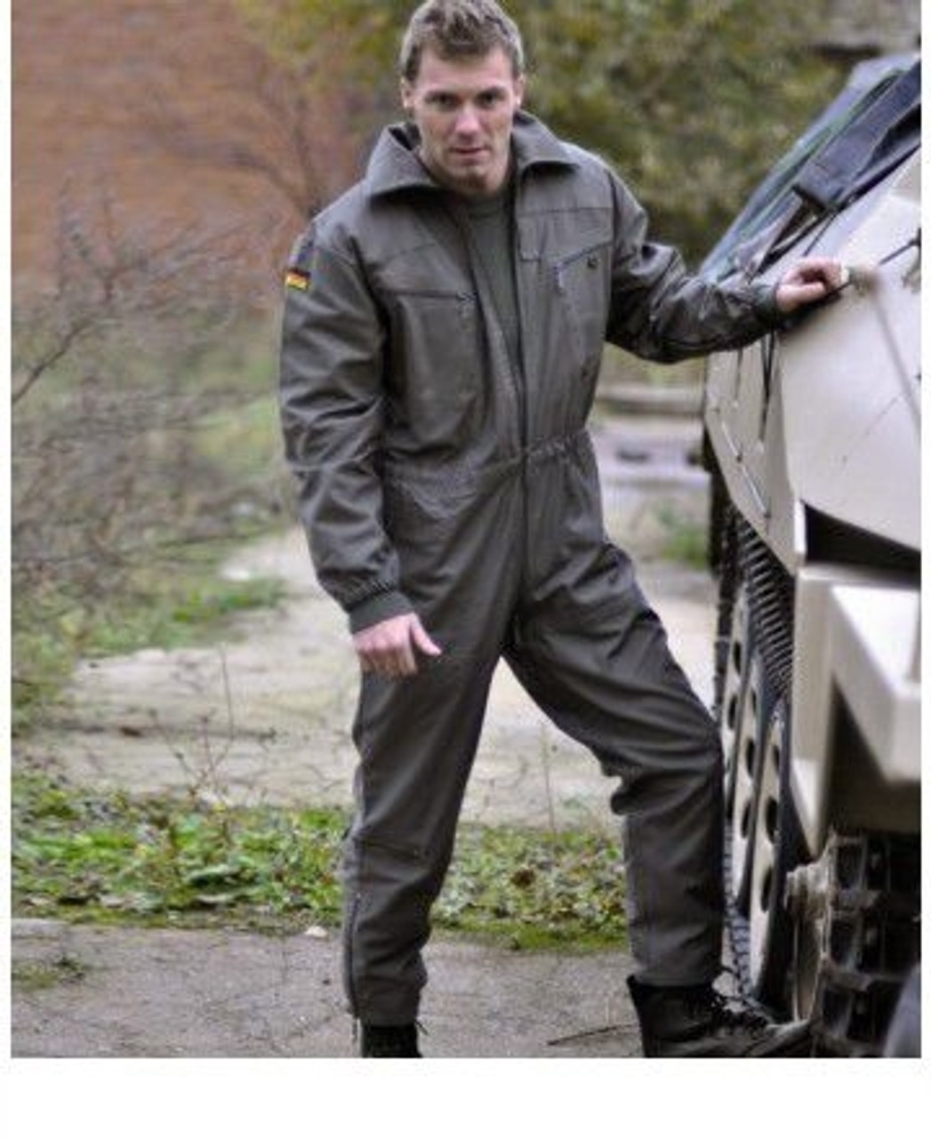 German OD Tanker Coverall from Hessen Surplus