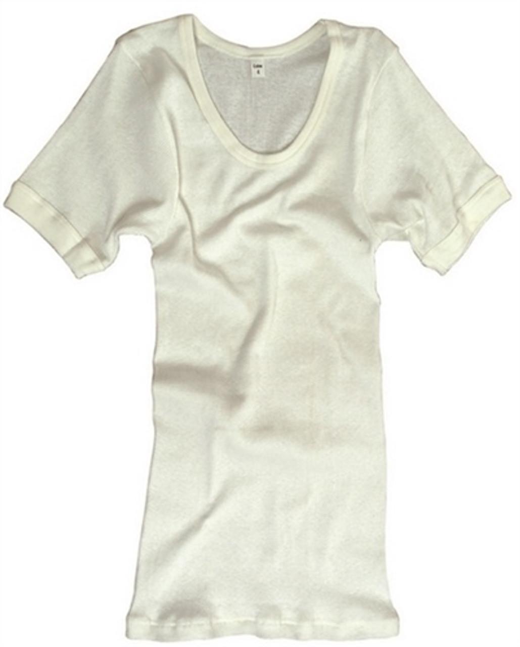 Bw White T-Shirt - New from Hessen Surplus