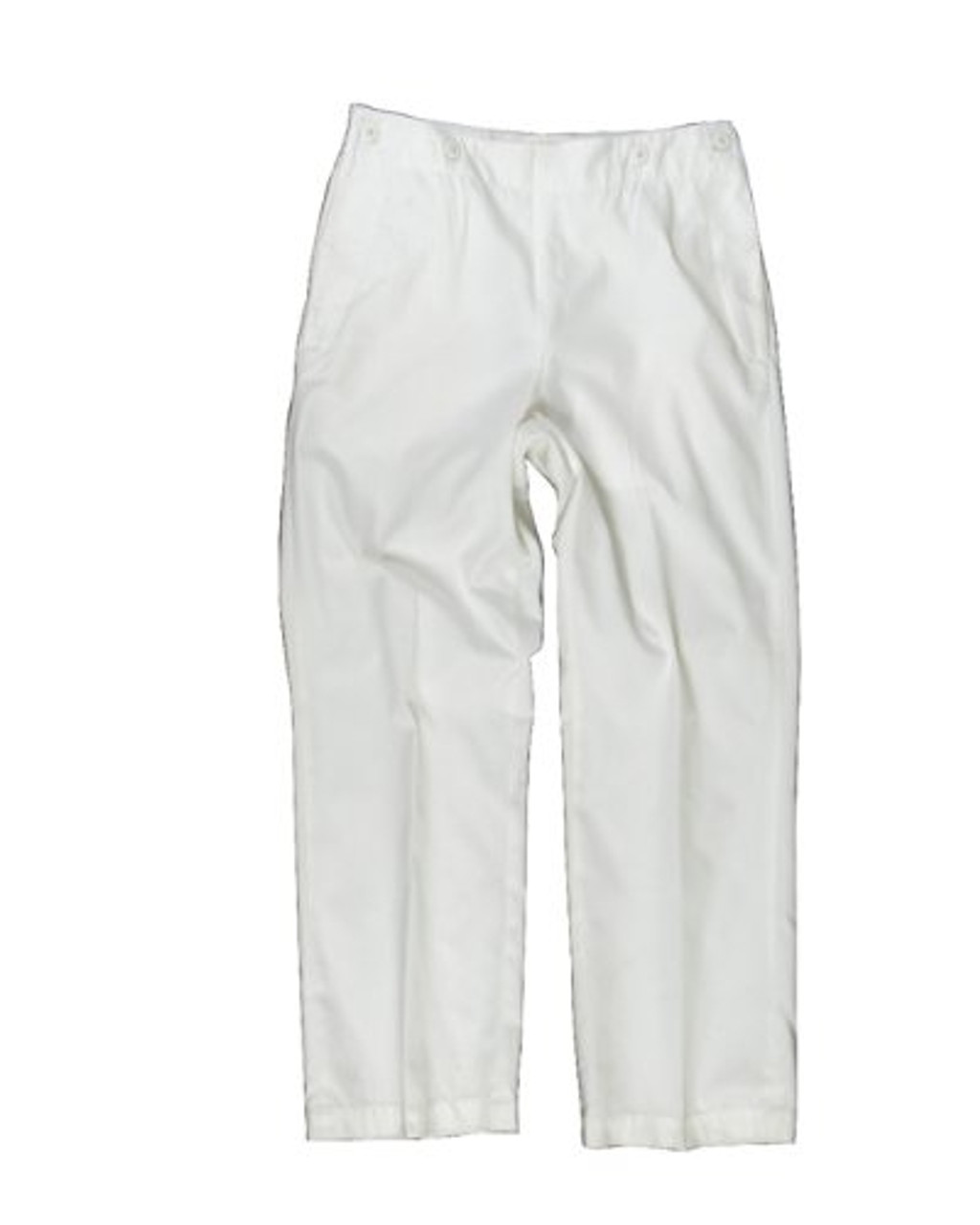 German Navy White Sailor Trousers from Hessen Surplus