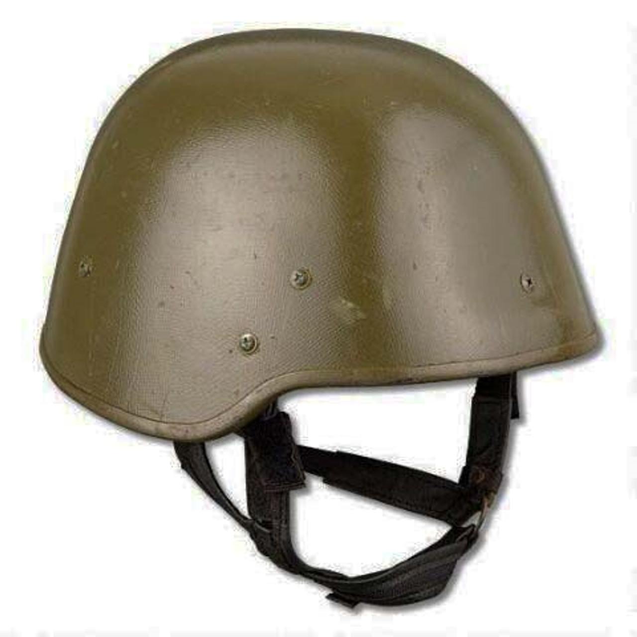 NATO Polish Kevlar Helmet With Cover from Hessen Antique
