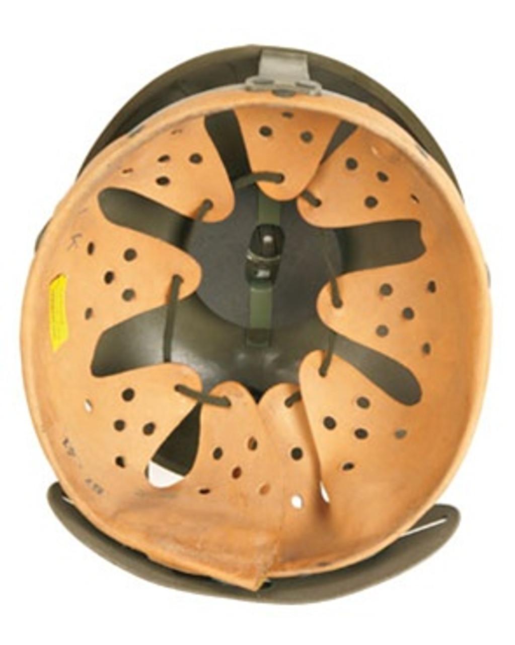 German Leather Helmet Liner from Hessen Antique