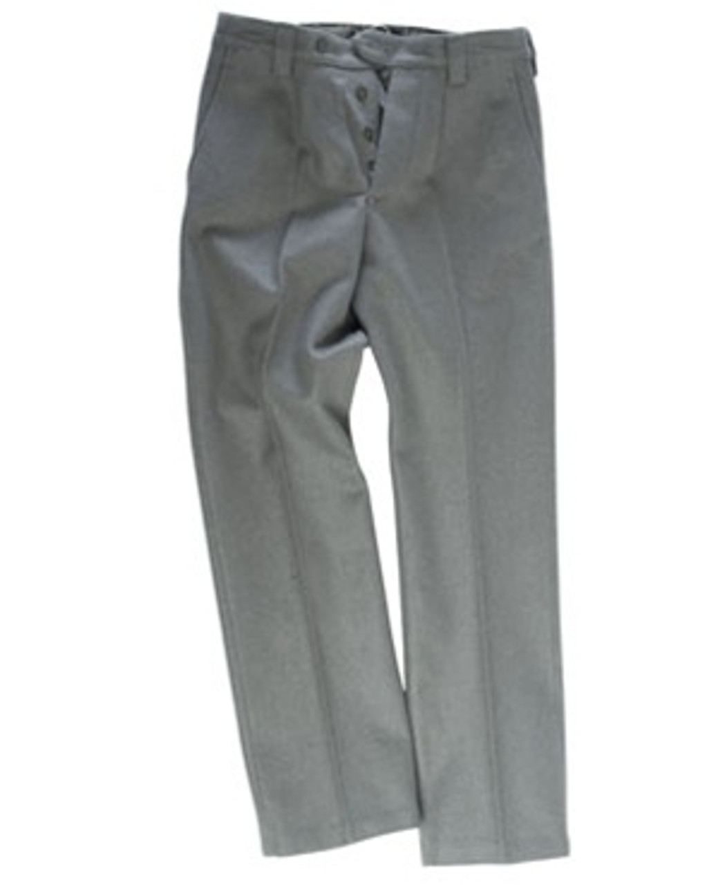 East German EM Grey Wool Service Pants from Hessen Surplus