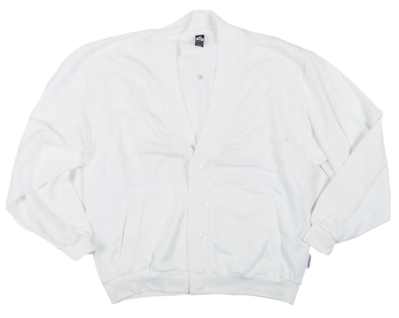 German White Trigema Sports Jacket - Used from Hessen Surplus
