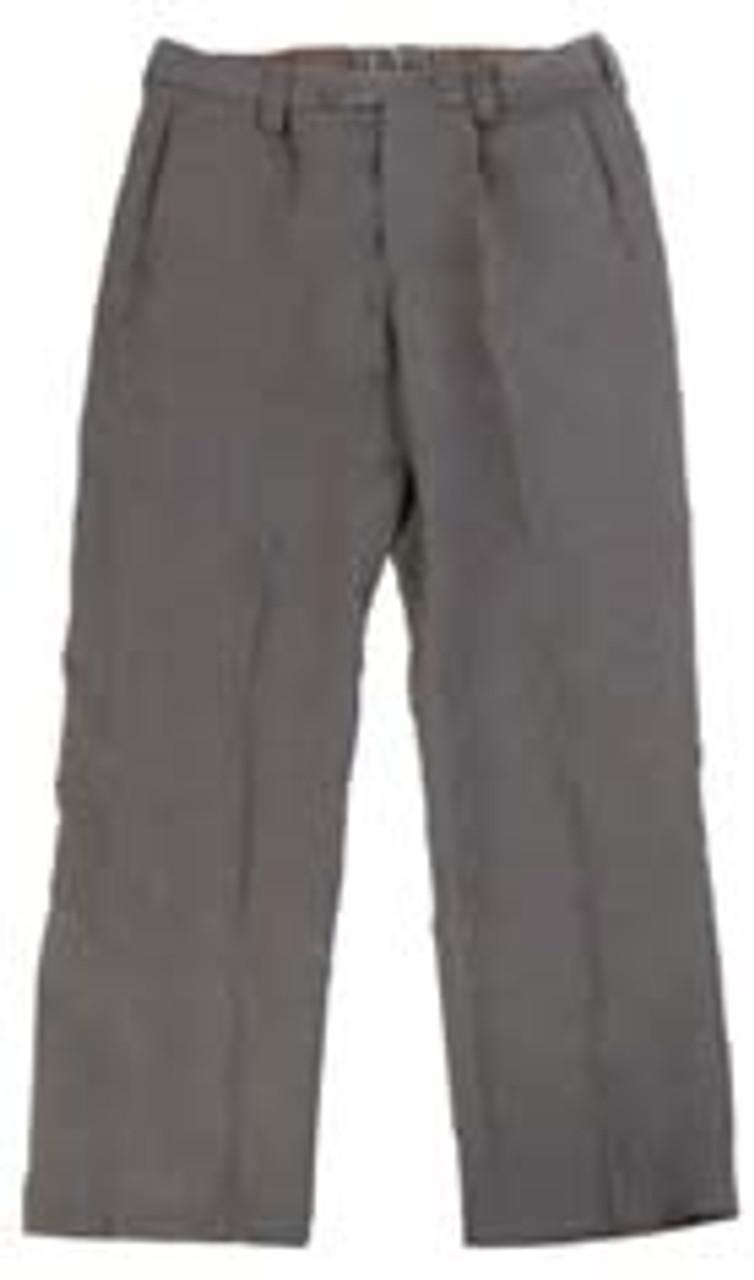 East German Officers Grey Gabardine Service Pants from Hessen Surplus
