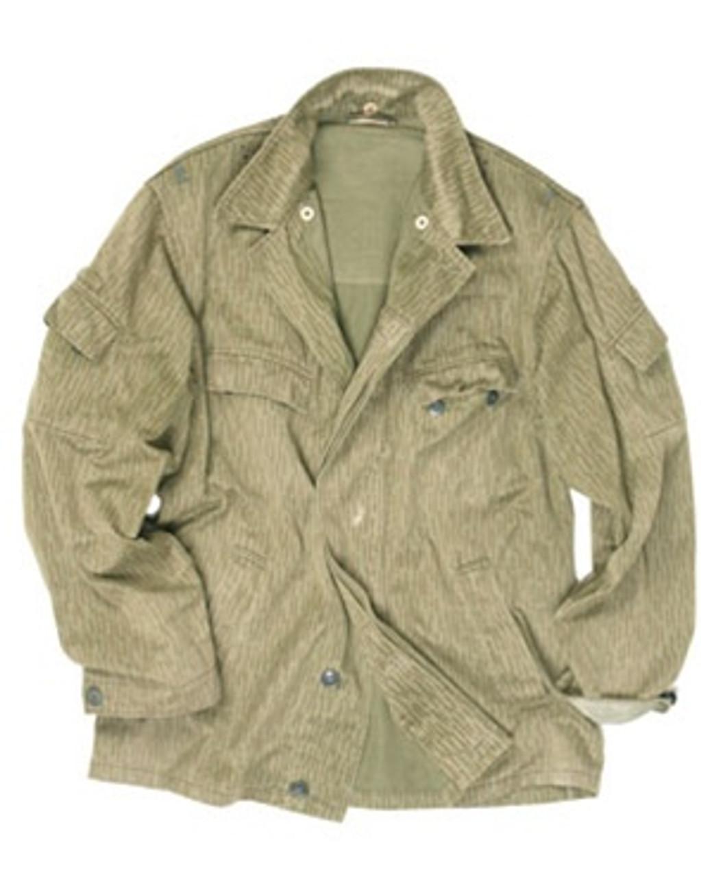 East German Camo Summer Jacket from Hessen Surplus