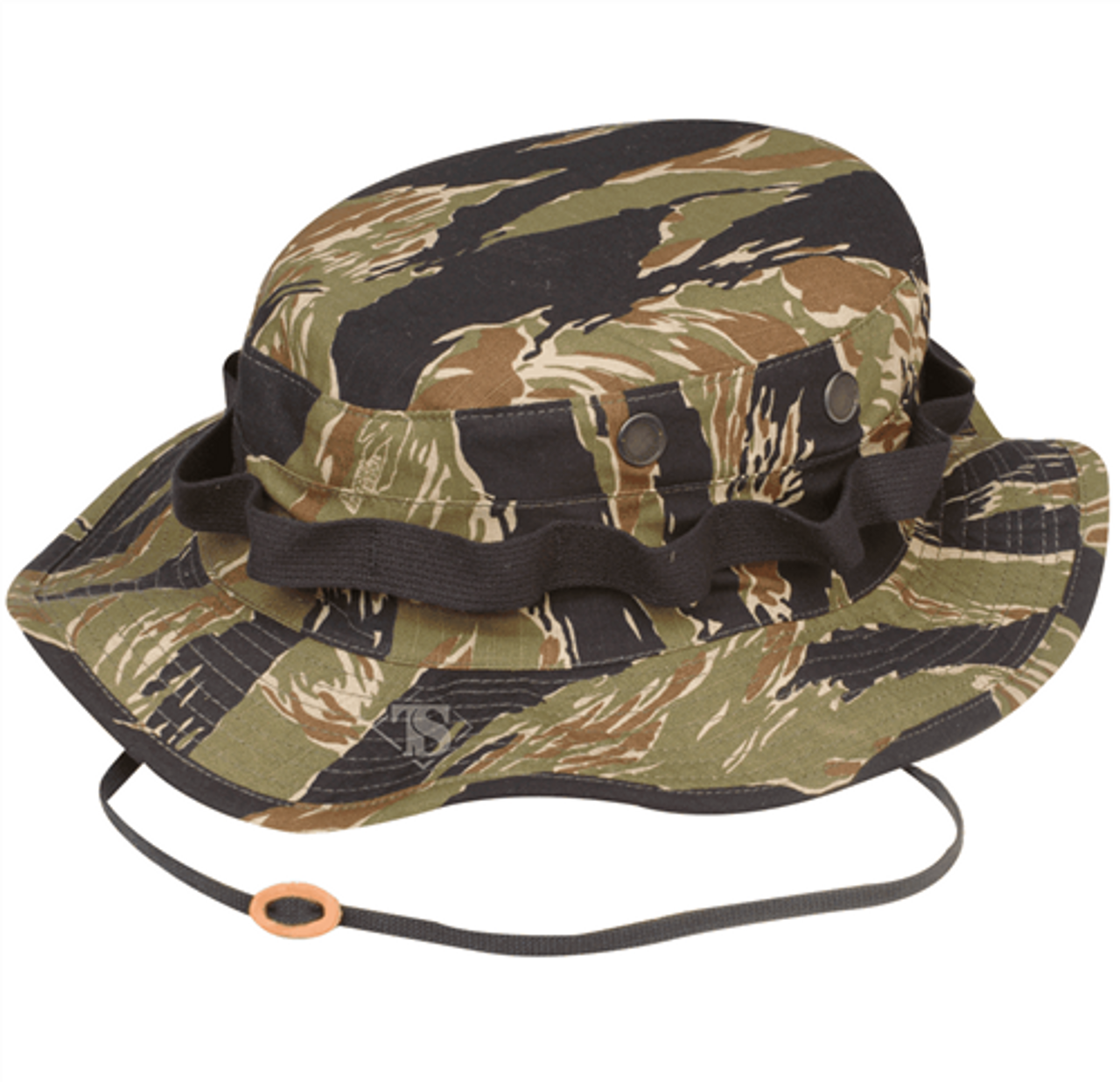 Military Boonie Vietnam Tiger Stripe - 100% Cotton Rip-Stop from Hessen Tactical.