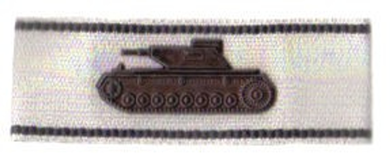 Tank Destruction Badge -Silver from Hessen Antique