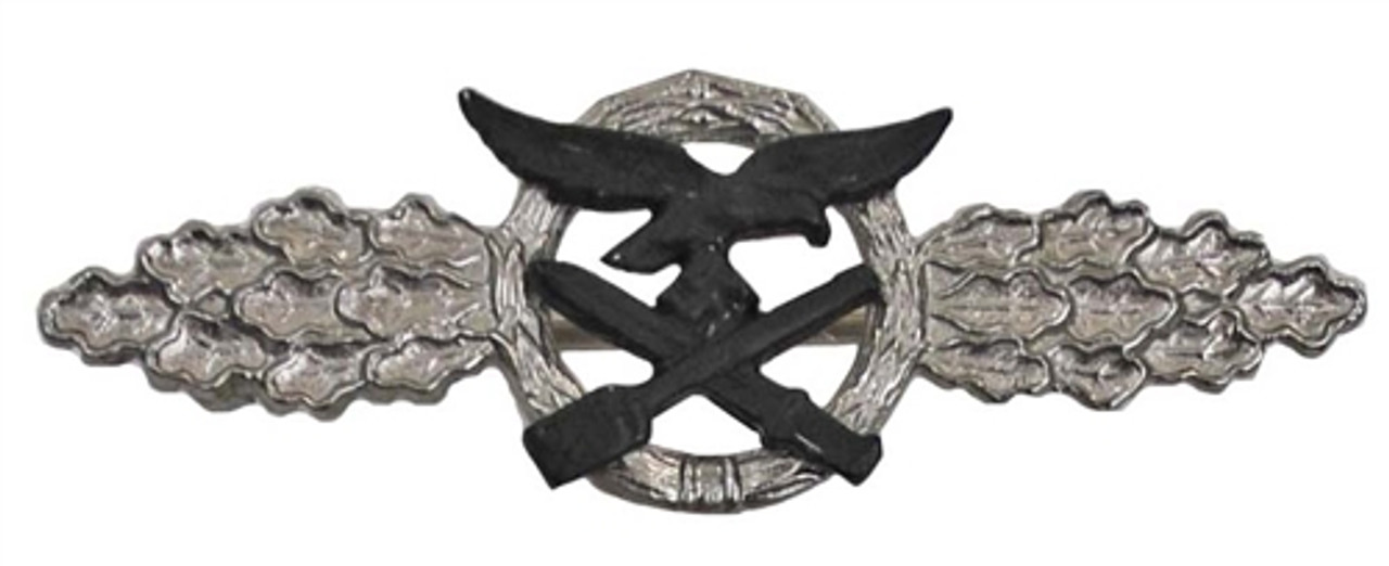 Luftwaffe Day Fighter Clasp Silver from Hessen Antique