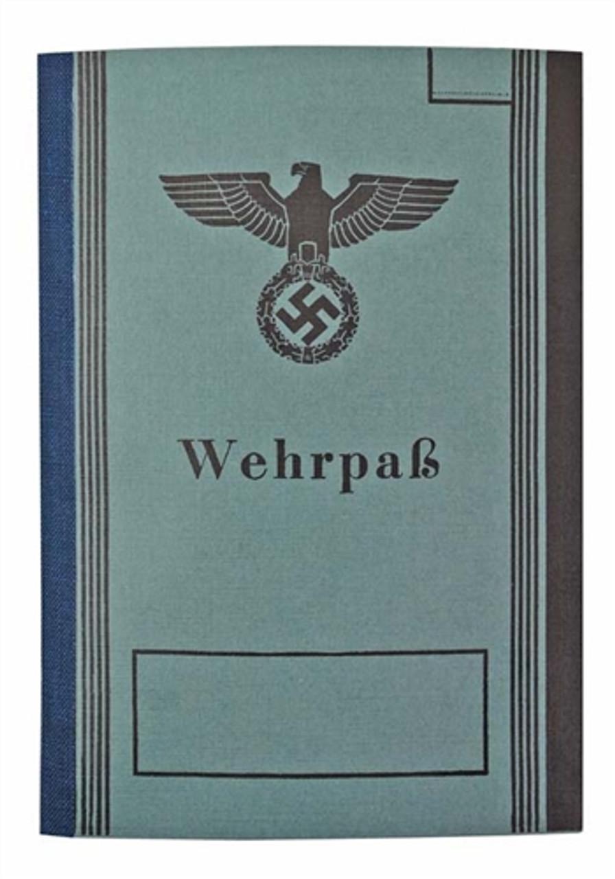 Wehrpass - Military Pass