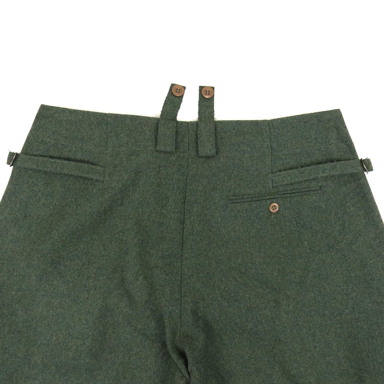 Field-grey Wool Breeches