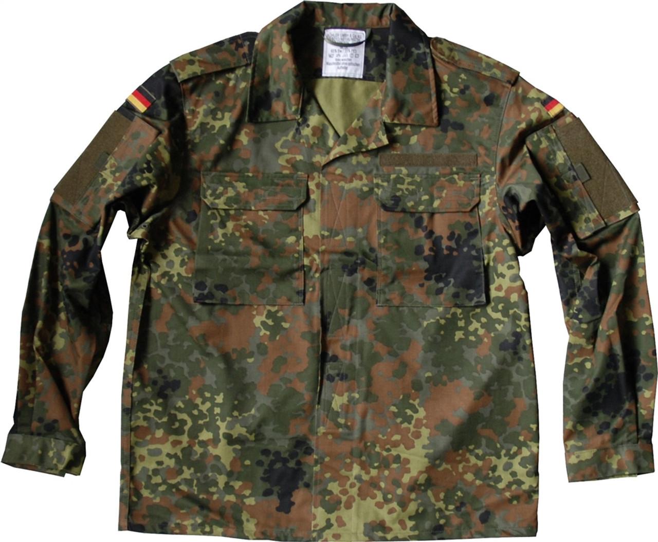 Bw Commando Field Blouse - Flecktarn from Hessen Antique