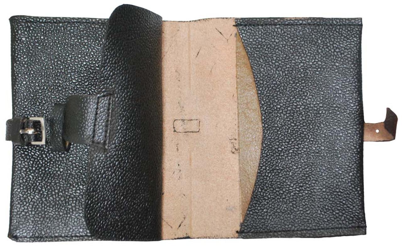 Soldaten Black Leather Wallet