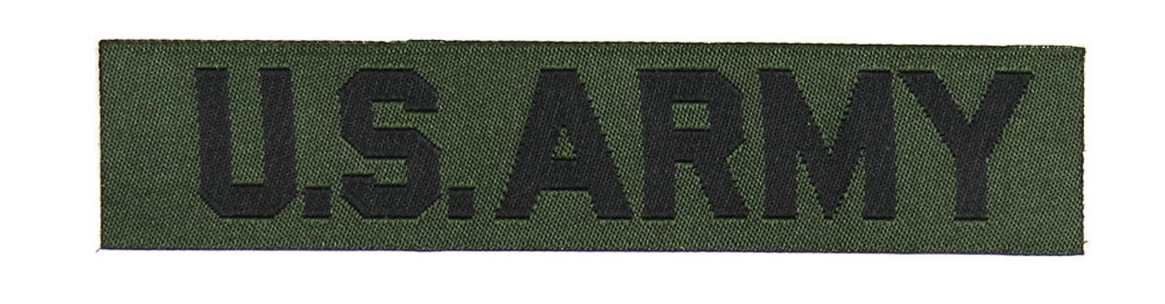 US Army Branch Tape, Woven, Subdued - Reproduction