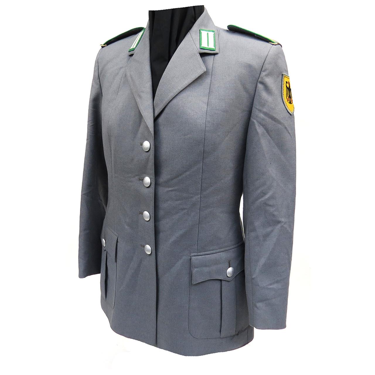 Bundeswehr, grey two pocket female uniform jacket
