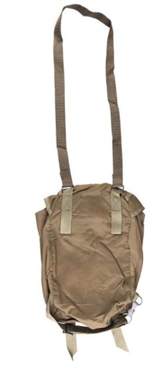 Czech Army OD Paratrooper Haversack - Used