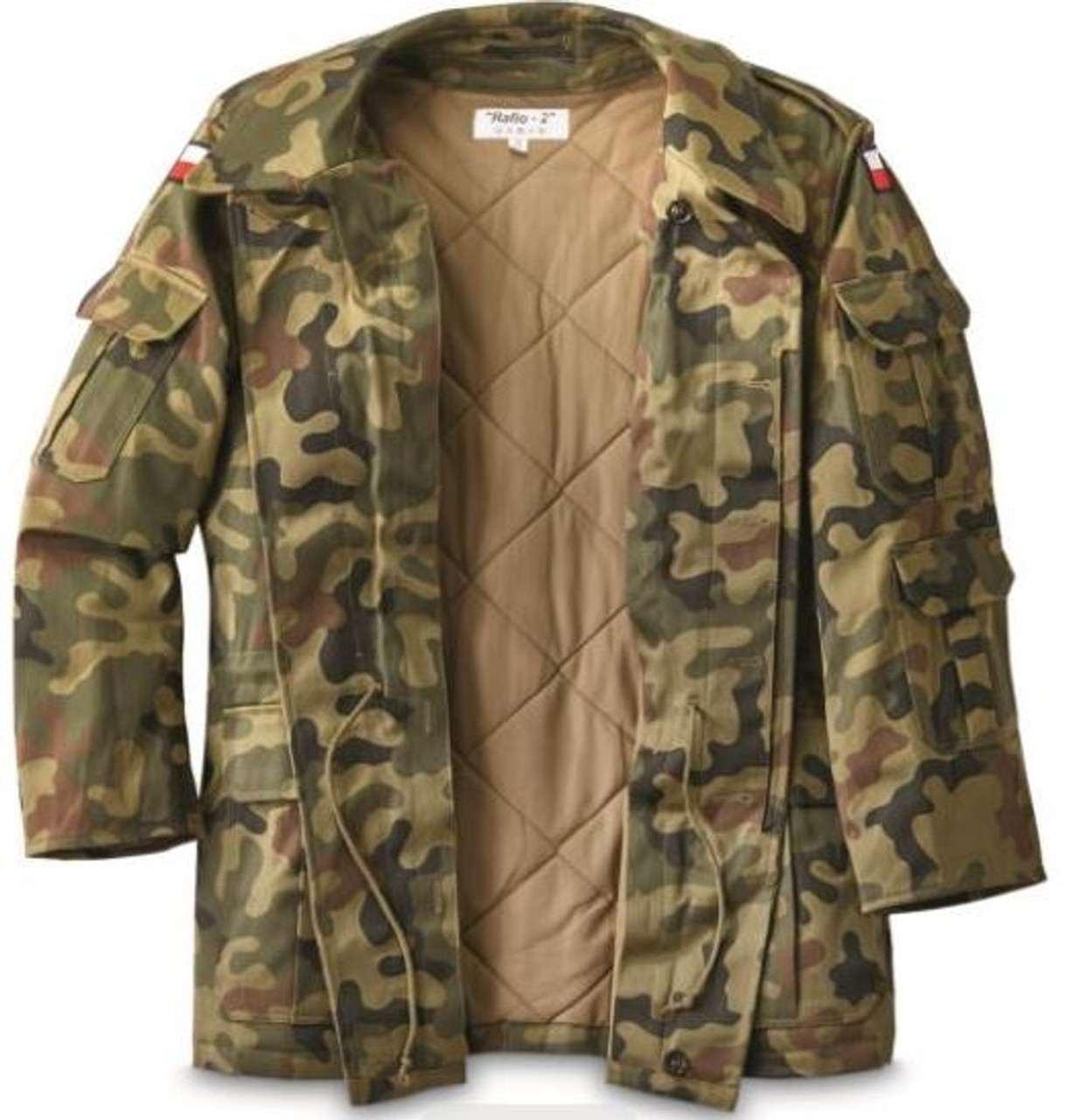 Polish Army M93 Camo Field Jacket With Liner