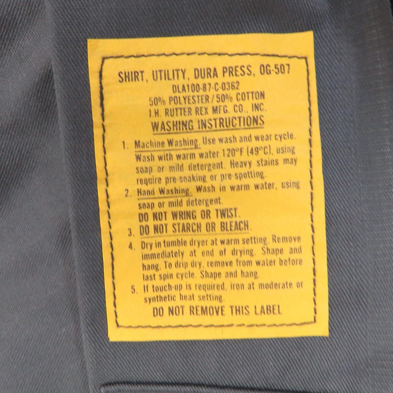 US Army OG-507 Shirt